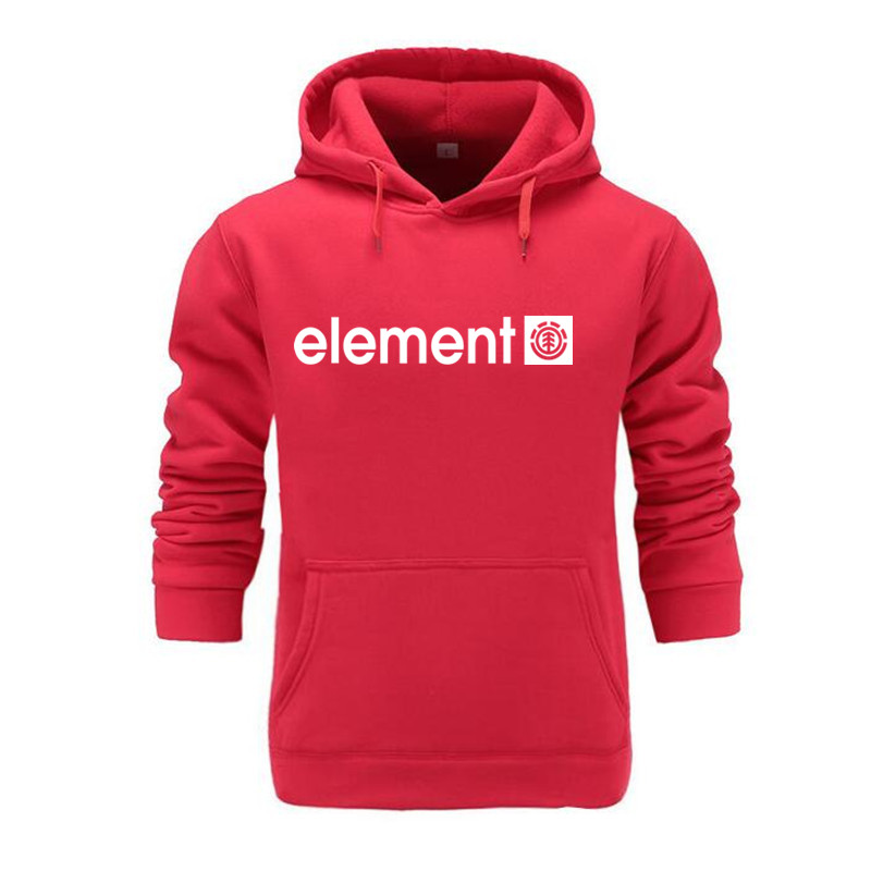 Autumn Winter Brand Mens Hoodies Sweatshirts Men High Quality ELEMENT Letter Printing Long Sleeve Fashion Mens Hoodies 6