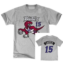 Toronto T Shirt Raptors Carter Hwc Retro Name and Number T-shirt 2018 New 100% Cotton Top Quality Tee Plus Size Harajuku