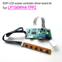 For LP156WH4-TPP2 1366*768 15.6 » WLED 60Hz notebook LCD screen EDP 30-pin HDMI VGA display controller driver board DIY kit