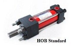 Tie rod hydraulic oil cylinder HOB50X200 with14MPA high pressure hydraulic oil cylinder mob50 20 200 pneumatic cylinder