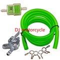 Verde combustible manguera del filtro de línea interruptor del depósito de combustible válvula Petcock para Honda motocicleta ATV Dirt Bike Pit Bike 110 125 150CC Orion KLX