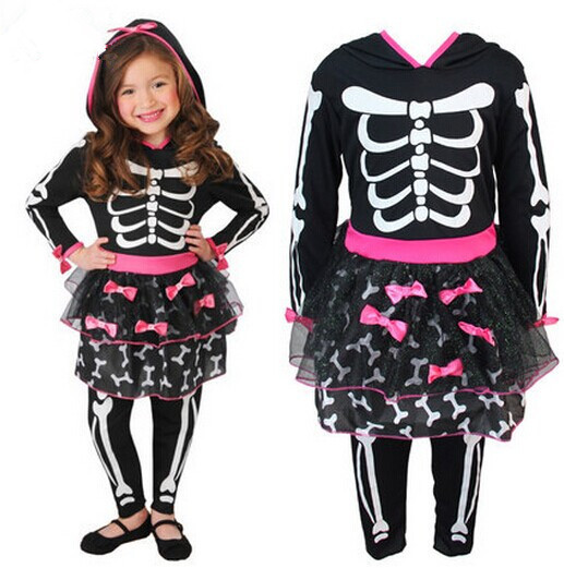 Clearance ! skull costumes for girls cosplay costumes carnival ...