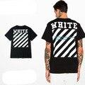Hip Hop Kanye West  Pyrex C/O Virgil Abloh OFF WHITE Stripe T Shirts Religious Jesus Twill 13 Men Yeezy Cotton Exo T-Shirt