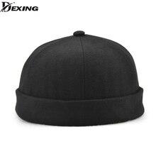 Moda Miki algodón boina sombrero para hombres mujeres hembra ocasional  retro cúpula Rogue negro fresco sombrero 4f4404b8c48