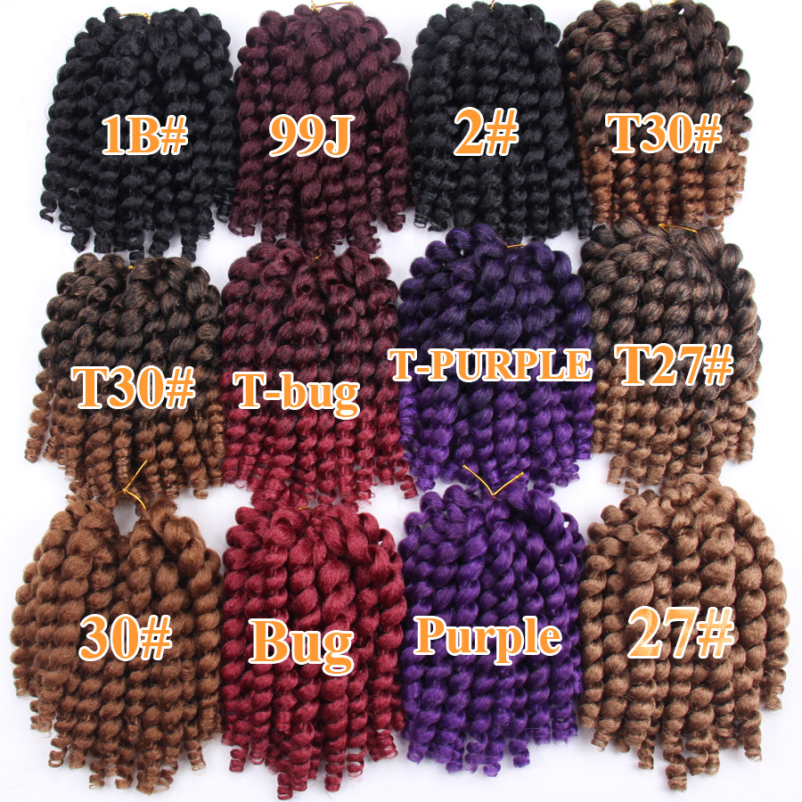 FALEMEI 2Χ Τζαμαϊκανές Μπλούζες μαλλιών 10 - Συνθετικά μαλλιά - Φωτογραφία 6