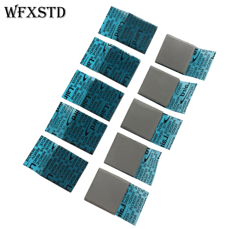 10*FLEX780 2mm Silicon Thermal Pad For LAIRD Notebook Graphics Memory Beiqiao GPU Thermal Silica Thermal Pad FLEX780 Thermal Pad flexible memory notebook motherboard north and south bridge solid thermal pad cooling silicone pad thickness 2mm