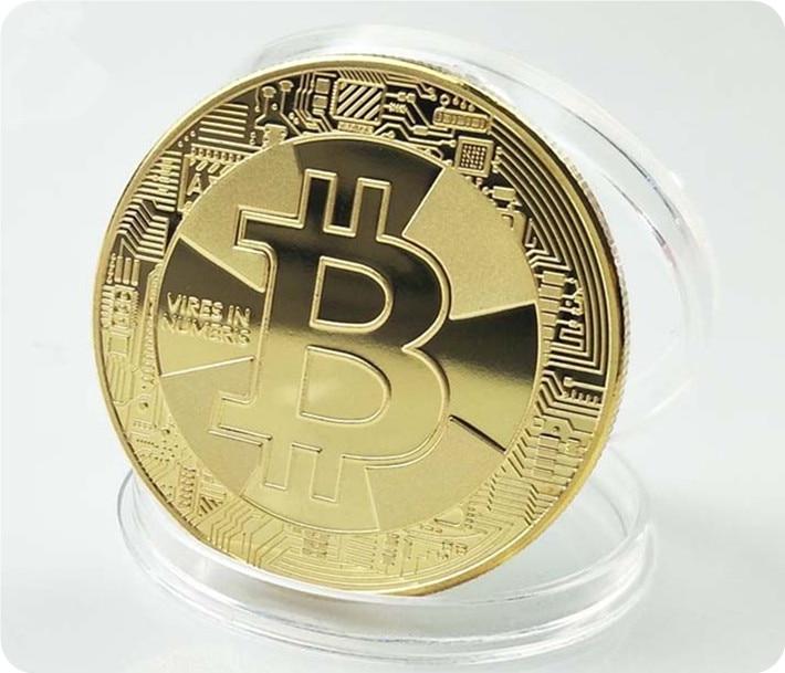 Позолоченные 2017 биткоин Litecoin Ripple Dash coin, памятные монеты, художественная коллекция