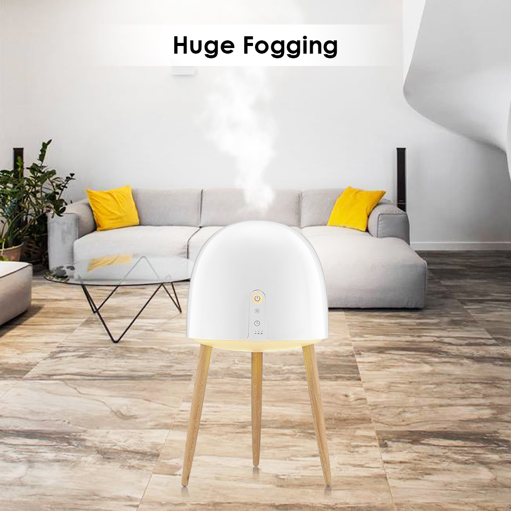 купить S900 Large Capacity Humidifier Aroma Essential Oil Diffuser Ultrasonic Air Humidifier With LED Light Customizable Settings недорого