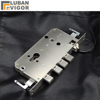 High quality,304 stainless steel security door lock body,silent tongue,Replace lock body,lock parts/accessories