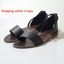 Women Sandals 2017 Solid Flat Sandals Beach Shoes Woman Soft Bling PU Shoes Summer Sandalias Mujer Femme 60F0432-2