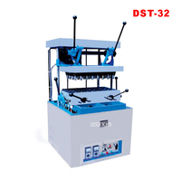 DST 32 Commercial Wafer Round Machine Wafer Biscuit Ice Cream Cone Making Pizza Oven Equipment Pizza Cone Maker 220V/380V