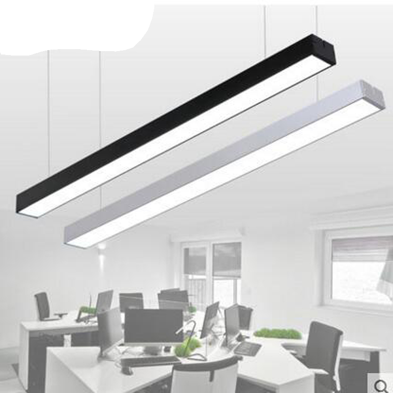 High Quality LED Strip Lights Office Lights Creative Personality Stitching Studio Gym  Lighting Chandeliers LED Office Lighting Fixture