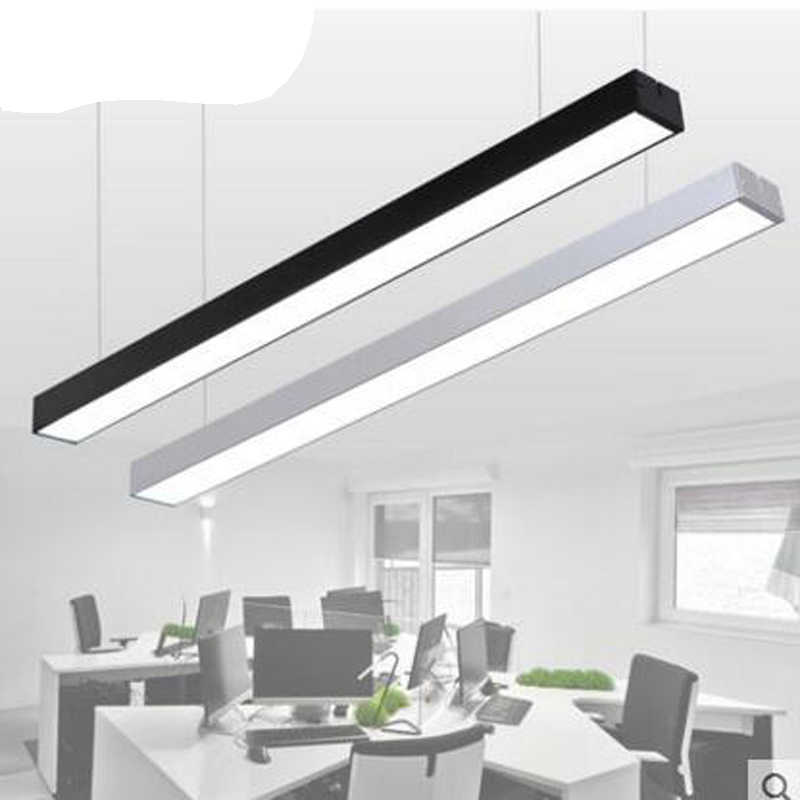 led strip lights office lights creative personality stitching studio gym lighting chandeliers led office lighting fixture led