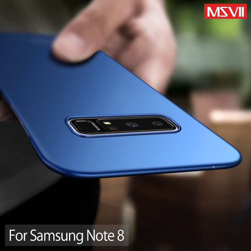 "Msvii for Samsung Galaxy Note 8 Case Cover Slim luxury Phone Case Armor 6.3"" Hard PC Back Cover For Note 8 Coque Capinhas Fundas"