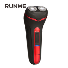 RUNWE Brand Rechargeable Male Razor High Quality Red Wine Electric Shaver Fast Charge 220V RS876 Shaving Machines For Men