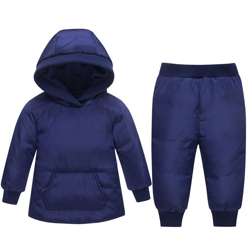 Russian Winter Suits for Boys Girls Clothes 2018 Casual Children Clothing Set Infant Toddler Down Jacket Outerwear Kids Snowsuit hurave winter sport suits children clothing girls set kids clothes brand girls clothing toddler 2 pcs jacket pant