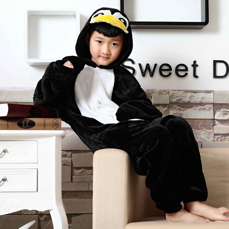 wholesale Unisex Penguin Cosplay pajamas kids christmas pajamas family christmas Animal Onesie Sleepwear