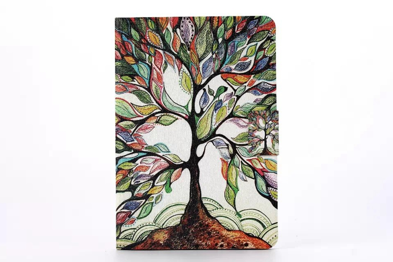 new Case for IPad Mini 1 2 3 360 Degree Porcelain Rotating Cover Stand Case for