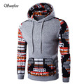 Sunfree 2016 Men Bohemia Retro Long Sleeve Hoodie Hooded Sweatshirt Tops Jacket Coat Outwear Brand New High Quality Nov 18