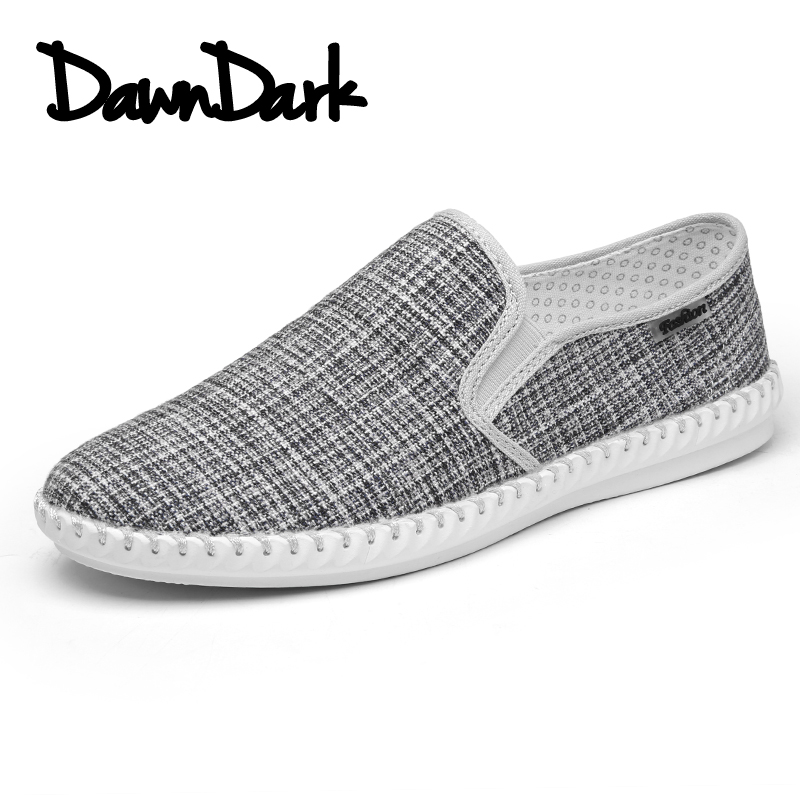 Canvas Fashion Shoes for Men Spring Summer Walking Casual Shoes Man Slip on Male Brand Flat Loafers Sneakers brand new spring casual boys canvas low top shoes slip on mens lightweight canvas shoes for young men fashion flat shoes ac 07