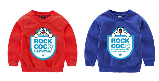Cartoon Baby Boys Girls Kids Coat Hoodie Jacket Sweater Pullover Outwear   for 3-9T