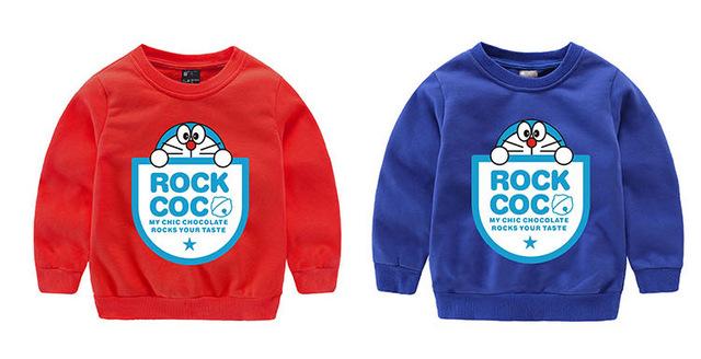 Historieta de los Bebés Niñas Niños Coat Chaqueta Con Capucha Sweater Pullover Outwear para 3-9 T
