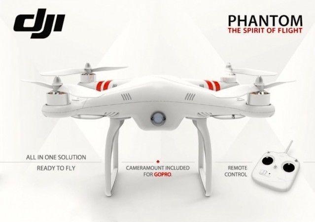 DJI Phantom 2 RC RTF Quadcopter GPS Drone+ DJI H3-2D GoPro Gimbal Ready to fly