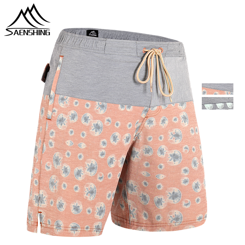 SAENSHING New Hot Surfing Swim   Shorts   High Quality Beach   Board     Shorts   Men Breathable Sport   Short   Male Maillot De Bain Plus Size