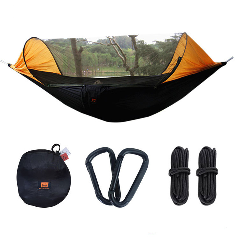 Multiuse Portable Hammock Camping Survivor ultralight Hammock with Mosquito Net Stuff Sack unnel Shape Swing Bed TentMultiuse Portable Hammock Camping Survivor ultralight Hammock with Mosquito Net Stuff Sack unnel Shape Swing Bed Tent