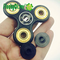 Amazing good~Tri-Fidget Autism Hand spinner for children adults Increase focus ADHD EDC gold finger gyro hand gyroscope Spin