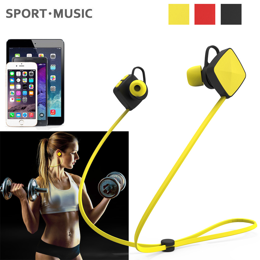 2017 New Bluetooth Earphone Sport Wireless Headset Handsfree Stereo Earbuds for iPhone for Samsung for Huawei for Xiaomi #ET high quality 2016 universal wireless bluetooth headset handsfree earphone for iphone samsung jun22