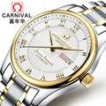 Relojes Hombre 2018 мужские часы Топ бренд класса люкс Carnical нержавеющая сталь Relogio Masculino часы мужские механические наручные часы
