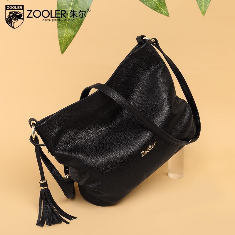 ZOOLER New arrival genuine leather handbags Woman Design Elegant Top Quality Shoulder Bags Luxury Brand Fashion
