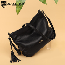 ZOOLER New arrival genuine leather handbags Woman Design Elegant Top Quality Shoulder Bags Luxury Brand Fashion  bags  #BC-8135