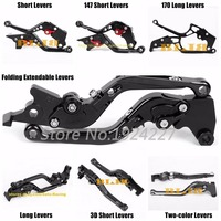 For Honda VTR1000 VTR 1000 SP 1 SP1 SP2 SP 2 SP 1 2 RC51 RC 51 CNC Motorcycle 7 Different Style Clutch Brake Levers 8 Colors