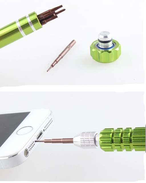5 in 1 Repair Open Tools Kit Precision Magnetic Torx Screwdriver Set For iPhone Mobile Phone Laptop Sunglass Watch 2pcs/lot