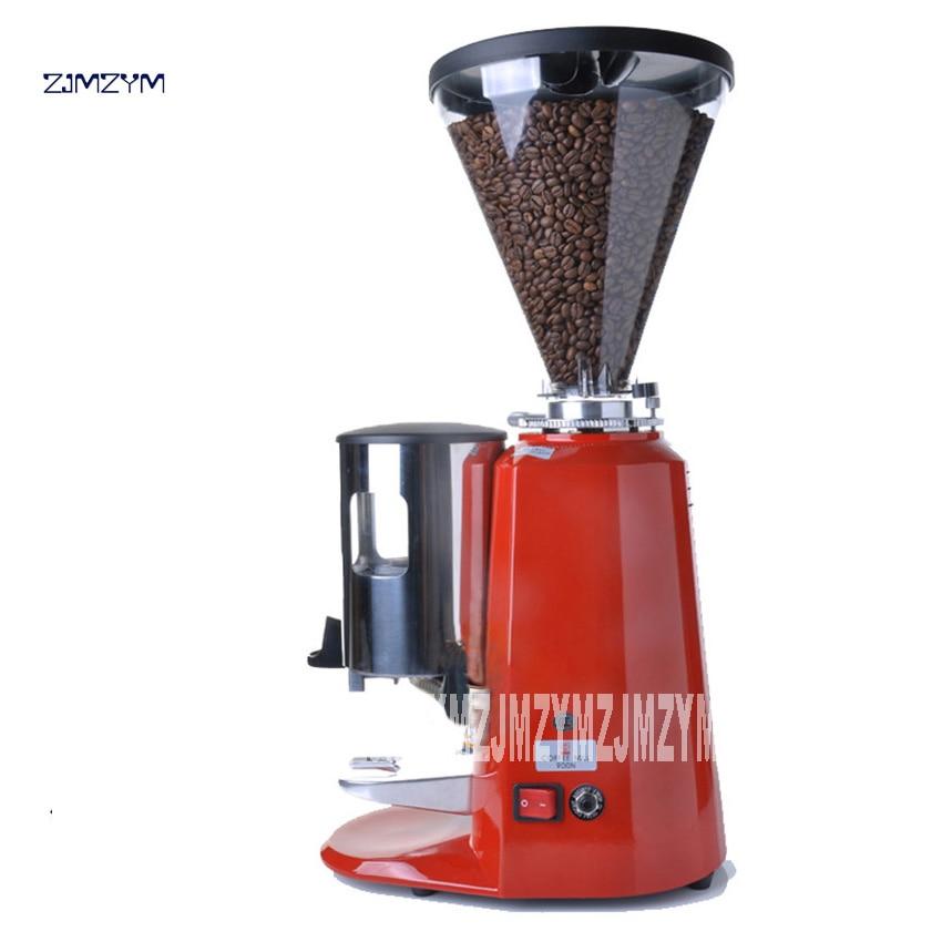 Ev Aletleri'ten Kahveciler'de Yeni Varış 900N profesyonel İtalyan taşlama makinesi ticari elektrikli değirmeni kahve dükkanı adanmış taşlama makinesi 220 V