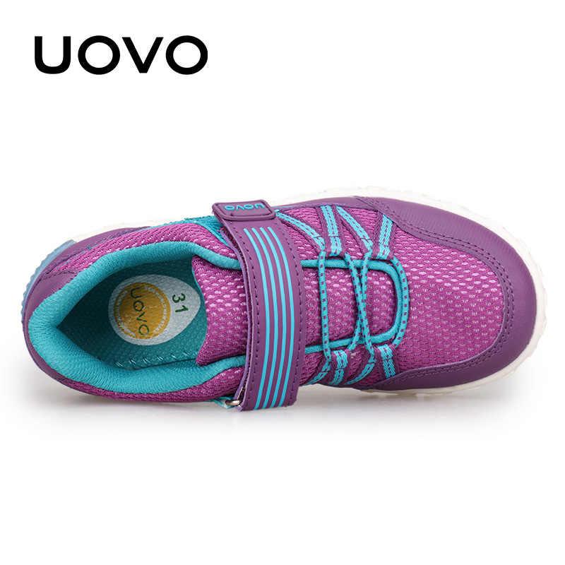סתיו ילדי נעלי בנות אור משקל ילדים קיץ ובסתיו UOVO לימודים ספורט נעליים לילדים קטנים Eur #26-35