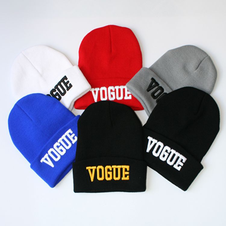 Unisex Vogue Winter hats for women,High Beanies for men,fashion Casual knitted Beanie Hat,3D Embroidery caps 229B6 Free shipping aetrue winter knitted hat beanie men scarf skullies beanies winter hats for women men caps gorras bonnet mask brand hats 2018