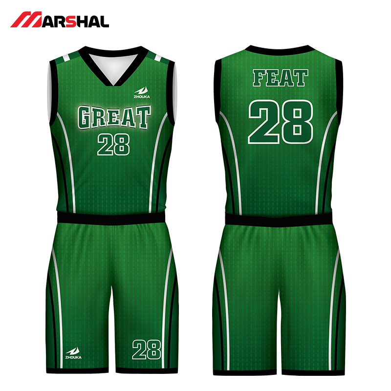 Customized team 4XL youth basketball jerseys breathable ...