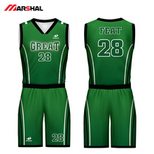 Customized team  4XL youth basketball jerseys  breathable delivery uniform logo design on line