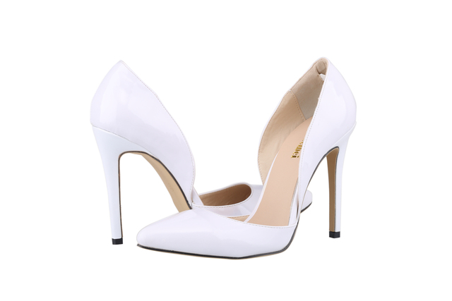 Classic Sexy Patent Leather High Heels Women Pumps Shoes Spring Brand Design Wedding Shoes Pumps 20 Colors Size 35-42  302-36PA