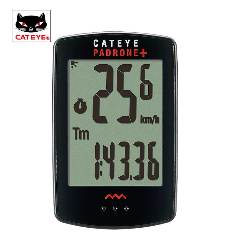 CATEYE Bike Bicycle Computer Wireless Cycling Computer Backlight Waterproof Speedometer Speed Sensor Stopwatch Digital Computer