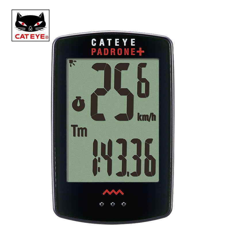 Велосипедный компьютер CATEYE беспроводной Велосипедный компьютер подсветка водонепроницаемый датчик скорости цифровой секундомер компьютер