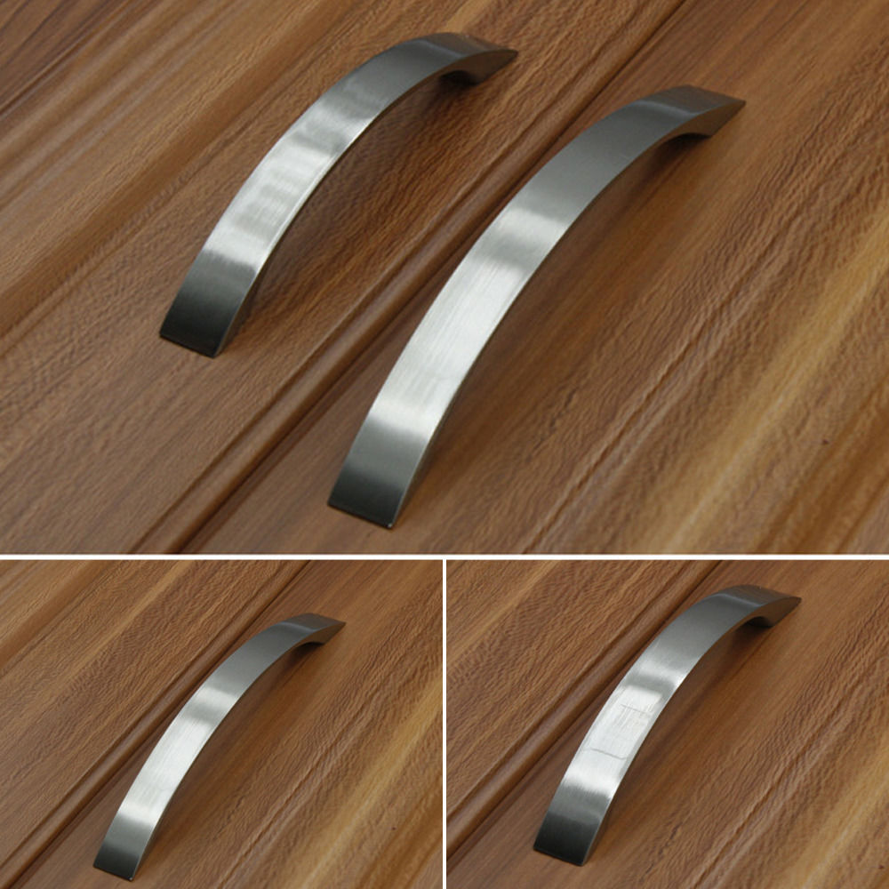 96/128/160mm Aluminium Alloy Cabinet Handles and Knobs Furniture Handle for Kitchen Cabinet Drawer Pull poignees de porte dreld 96 128 160mm furniture handle modern cabinet knobs and handles door cupboard drawer kitchen pull handle furniture hardware