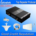New Powerful GSM 3G Mobile Phone Signal Repeater 70db LCD Display Dual Band Signal Booster GSM 900 -2100 3G Amplifier A Kit 2016