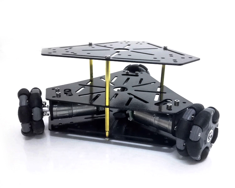 New Arrival MT100 With Omni Wheels 3 WD Stainless Steel Frame Powerful Motor For DIY Fans