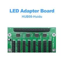 Huidu HUB08 Hub board fonctionne avec la carte de contrôle de LED asynchrone et synchrone D30 pour écran LED extérieur intérieur