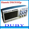 DHL Free Shipping Hantek DSO5102P Digital Storage Oscilloscope Usb Analyer 100MHz 1GSa S 40K Cheaper Than