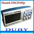 Hantek Dso5102p Digital Storage Oscilloscope 100 mhz 2 canais 1gsa/s 7 ''Tft Lcd Melhor Do Que Ads1102cal +